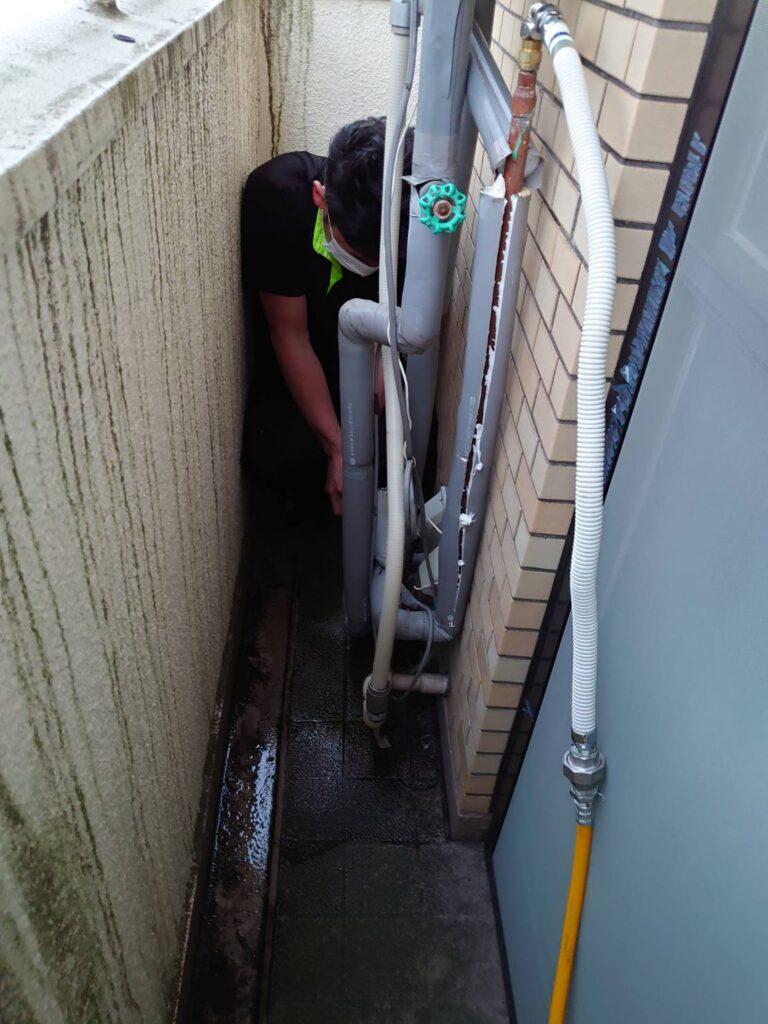 給湯管漏水修理